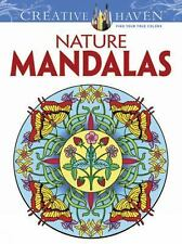 Creative Haven Coloring Bks.: Nature Mandalas by Marty Noble, Creative Haven...