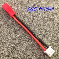 E-Flite Blade 130x (UMX) to JST Lipo Battery Adapter 5CM (2 inches) 20awg wire