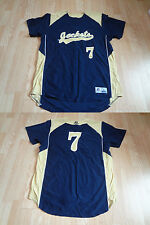 Men's Georgia Tech Yellow Jackets #7 L Basketball Jersey Russell Athletic Jersey