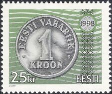 Estonia 1998 Coins/Money/Currency/Commerce/Business/History 1v (ee1196)