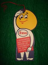 VINTAGE ESSO OIL DROP BOY CHANGE TAG  MINT and UNUSED!