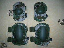07's series China PLA Digital Camouflage Tactical Combat Knee & Elbow Pad Set
