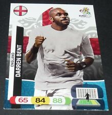 DARREN BENT ENGLAND FOOTBALL CARD PANINI UEFA EURO 2012