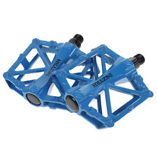 Mountain Bike MTB BMX Bicycle Cycling Alloy Flat Platform Bearing Pedals 9/16""