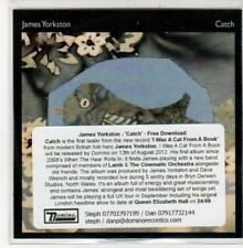 (DD890) James Yorkston, Catch - 2012 DJ CD