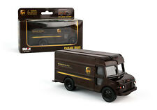 Daron UPS package delivery model truck pull back and go D07