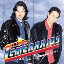 Una Lagrima No Basta by Los Temerarios (CD, Dec-2002, Fonovisa)