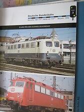 Eisenbahn Lokarchiv E Loks DB Datenblatt 3: DB E 10.1-4, ABAG 110. 1-5