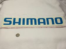 """SHIMANO LARGE 12"""" DECAL Official window decal tackle box *** fishing Rod Reel"""