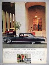 Cadillac PRINT AD - 1964