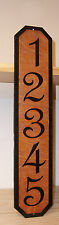 Custom Wood Sign, Vertical Plaque, Mailbox Numbers, House Number,Engraved.Gift.