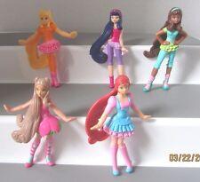 WINX CLUB DOLL figure lot FLORA BLOOM STELLA  AISHA  MUSA  McDonalds toy