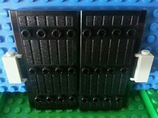 LEGO Stockade 1x5x7 x2 Gates Doors Ninja Castle Kingdoms Knights Samurai Dungeon