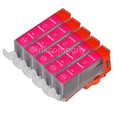 5 Tintenpatronen CANON + Chip CLI-521 magenta IP MX MP 980 NEU