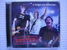 BUSTED - LIVE - A TICKET FOR EVERYONE - FREE POST UK