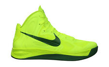 NIKE HYPERFUSE 2012 OLYMPICS Brazil VOLT-GREEN BASKETBALL SHOES 525022 700 Sz 17