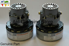 Genuine NUMATIC 2 x BYPASS MOTORS WVD CTD NTD VACUUM CLEANER COMPLETE KIT 305425