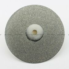 """6"""" Grit #240 Diamond Coated Flat Lap Wheel For Lapidary Grinding Disc Disk Tool"""