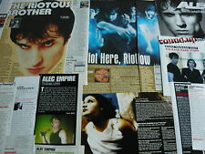 ATARI TEENAGE RIOT/ALEC EMPIRE - MAGAZINE CUTTINGS COLLECTION (REF 1A)