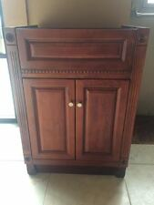 "JSI Concord 24"" Cherry Bathroom Vanity w/ 2 Doors - Cabinet Only VC-V2421"