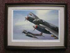 Michael Turner Aircraft print 'Hornets of No 41 Squadron' FRAMED