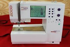 BERNINA 170 ARTISTA SEWING MACHINE * QUILTERS PLATINUM EDITION *EMBROIDERY