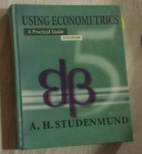 Using Econometrics by Studenmund, A Practical Guide 5th Edition