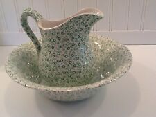 Felicity Green Burleigh Pitcher ONLY England Country Cottage Bathroom Kitchen