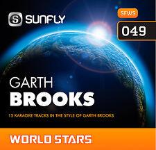 GARTH BROOKS SUNFLY KARAOKE CD+G