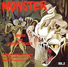MONSTER SOUNDS - Volume 2 - 50's and 60's Horror-Sounds