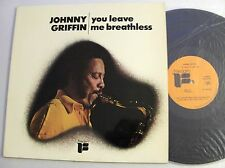 Johnny GRIFFIN You leave me breatless FRENCH LP FREEDOM BLP 30134(1972)NMint
