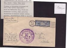 USA 1926 06.Apr. FIRST  FLIGHT COVER Nevada to Pasco, CRASH