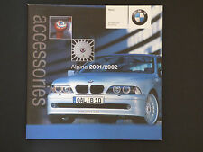 BMW ALPINA  2001/2002  ACCESSORIES BROCHURE