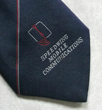 SPEEDWING MOBILE COMMUNICATIONS COMPANY CORPORATE TIE 1970s 1980s VINTAGE RETRO