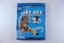 ICE AGE CONTINENTAL DRIFT (Blu-ray, 3D + 2D +DVD + Digital Copy) BRAND NEW!