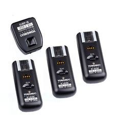 YONGNUO RF-602 2.4GHz Wireless Remote Flash Trigger + 3 Receiver for Canon 1+3