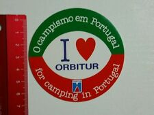 Aufkleber/Sticker: Orbitur for Camping in Portugal (070416149)