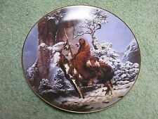 MYSTIC WARRIOR Mystic Warriors US HAMILTON COLLECTION PLATE!
