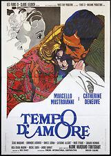 IT ONLY HAPPENS TO OTHERS orignal movie poster MASTROIANNI, DENEUVE ITALIAN