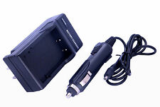 Home / Travel Battery Charger with Car Adapter for Fuji NP-60 Camera/Camcorder