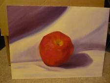 Still life--Fruit--Apple--original oil painting--direct from the artist