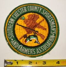 Southern Chester County Sportsman's and Farmers Association Patch