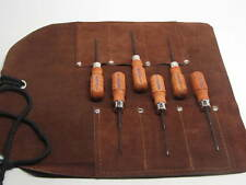 Gunsmith Stock Tools MS-6 Micro Screwdriver GRACE USA  Leather Holder