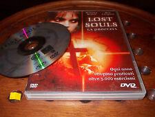 Lost Souls. La profezia Play Press Edition  Dvd ..... PrimoPrezzo