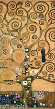 Gustav Klimt The Tree Of Life Stoclet Frieze Giclee Canvas Print