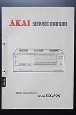 AKAI gx-f95 Original Service-Manual/Servizio-Istruzioni/Schema Elettrico!