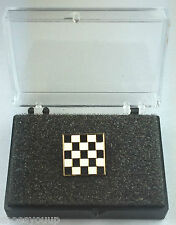 Masonic Mosaic Carpet Gold Plated Enamel Lapel Pin Badge In Gift Box