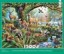 CEACO 1500 JIGSAW PUZZLE WOODLAND CREATURES ADRIAN CHESTERMAN #3401-33