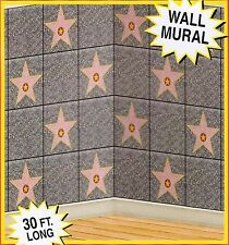 Hollywood Walk of Fame STAR BACKDROP Party Decoration PHOTO PROP Classroom*