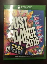 Just Dance 2016 (Microsoft Xbox One, 2015) BRAND NEW SEALED SHIPS FAST!!!